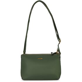 Pacsafe Stylesafe Double Zip Crossbody Bag kombu green